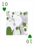 10 hearts card