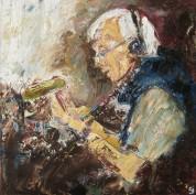John Humphrys (oil on canvas)