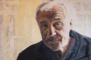 Jack Lewis (oil on board)