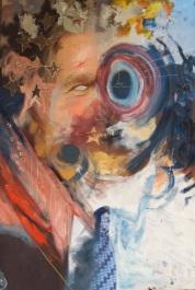 Bush (oil on canvas print) SOLD