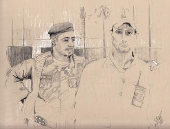 baghdad 2013 sketch guards