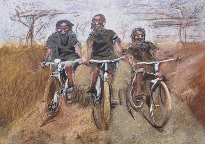 the work of World Bicycle Relief