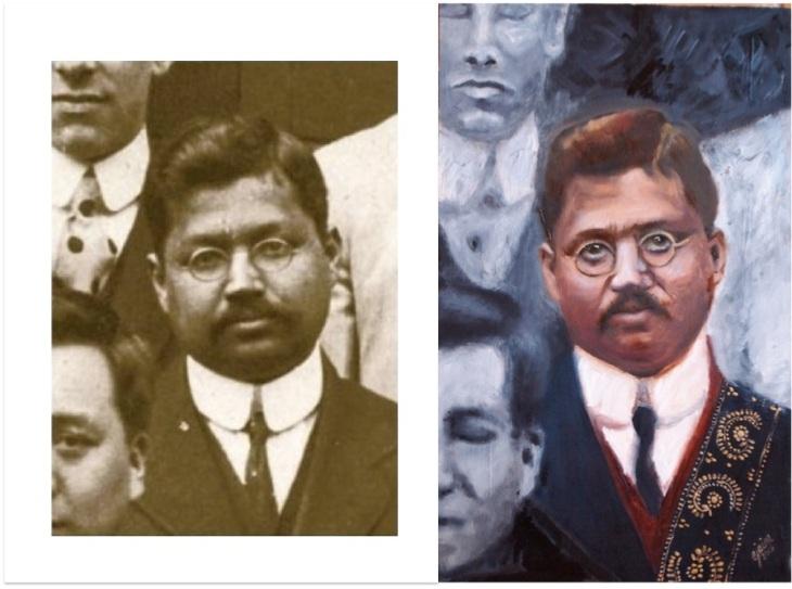 Jogendra Nath Sen portrait and photo