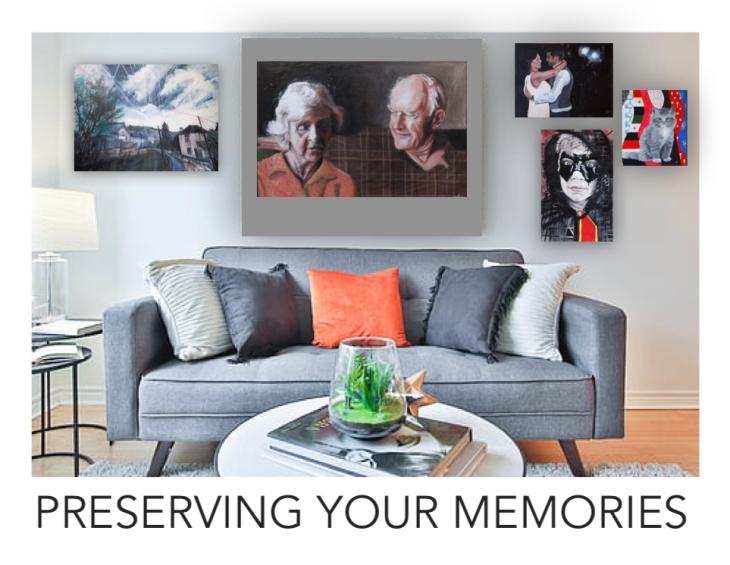 preserving your memories text